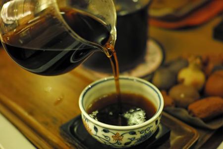 老茶頭1990年代プーアル茶