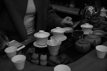 祈享易武青餅2014年プーアル茶