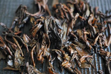 紫天樟香青磚80年代プーアル茶