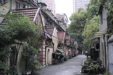 上海の茶室