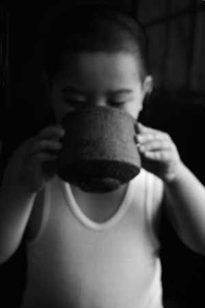 マルちゃんの茶碗と上海の坊
