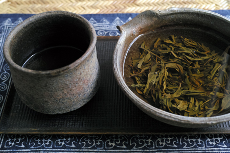 緑印プーアール茶