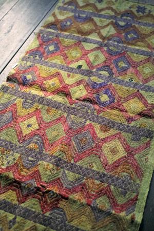 ラオスの織物