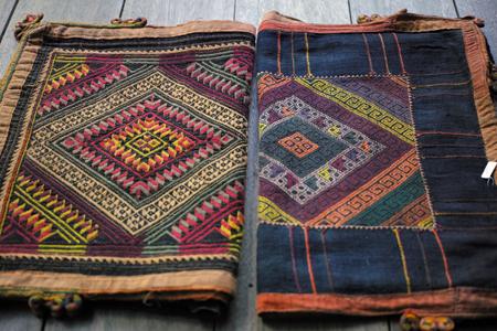 ラオスの織物帯