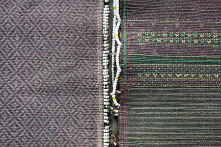 ミャンマー織物
