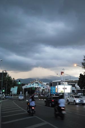 チェンマイの雲