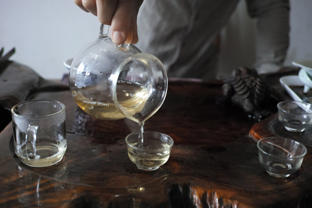 章朗古樹秋天散茶2015年