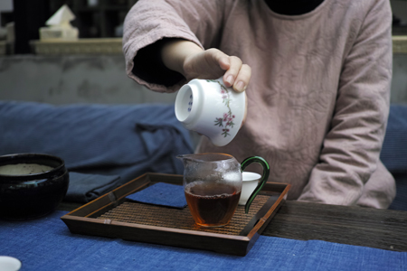 上海でお茶会