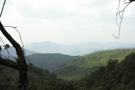 巴達山からミャンマーを望む