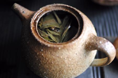 茶壺でじっくり抽出