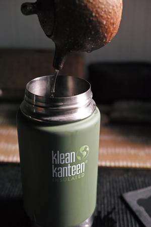 Klean Kanteenの保温ボトル