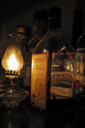 年代モノのラム酒