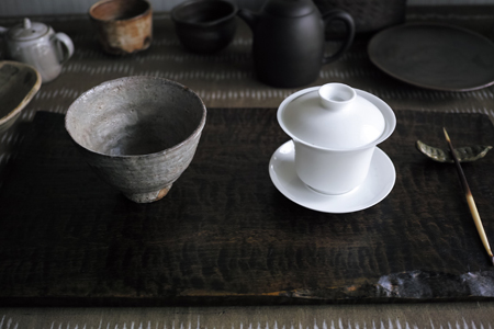 白磁の蓋碗