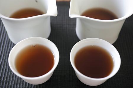 白磁の蓋碗2種5煎め茶杯