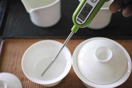 蓋碗大・小湯の温度