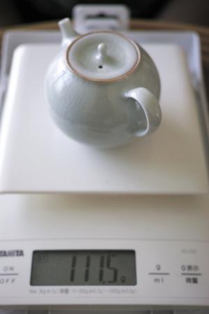 青磁の茶壺