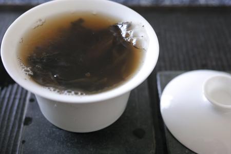 渥堆発酵の熟茶