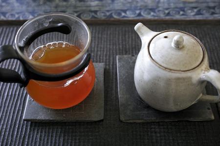 散茶の泡茶