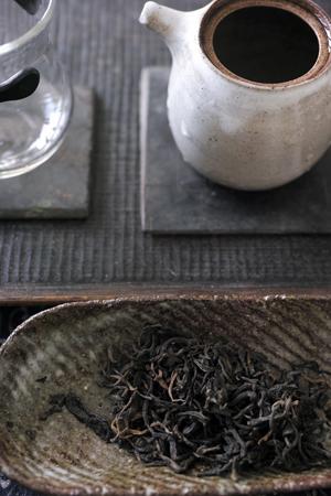 巴達山熟紅茶2010年泡茶1