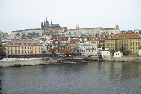 プラハの町並