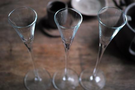 グラスの杯