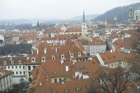 プラハの屋根