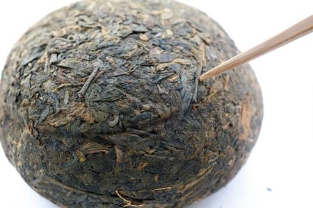 プーアール茶の白露