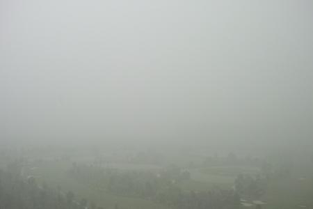 雨の西双版納
