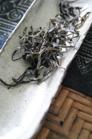 倚邦古樹晒青茶2017年