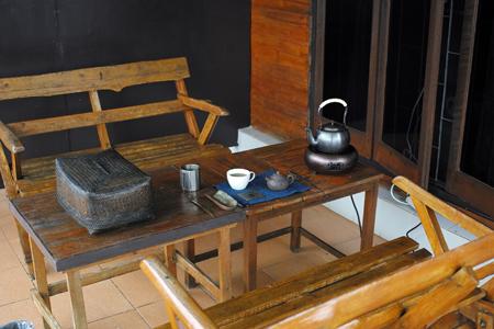巴達古樹紅餅2010年泡茶