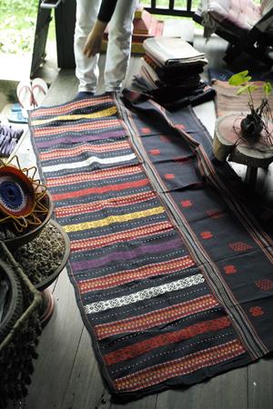 アンティークの布