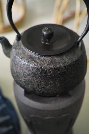 炭炉と鉄瓶