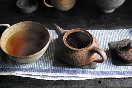 章朗古樹紅餅2016年の茶湯
