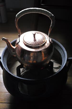 銅のヤカン