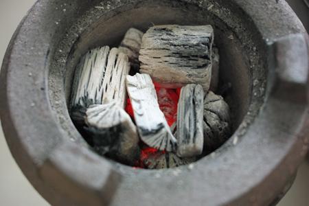 中国の菊炭は白炭