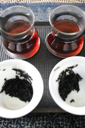 1980年代の黒茶と宮廷プーアール茶