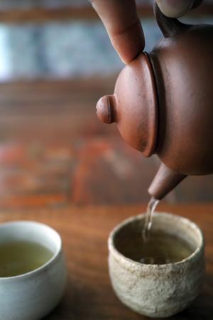 茶壺で淹れる