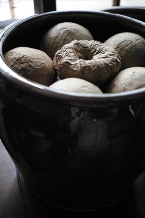 熟茶の壺熟成