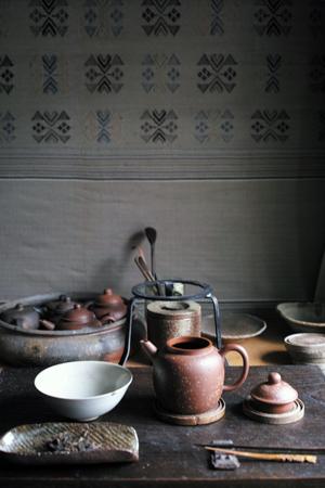 大きめの茶壺