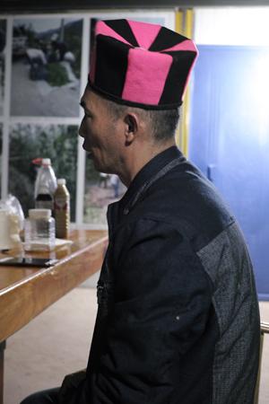 瑶族の帽子