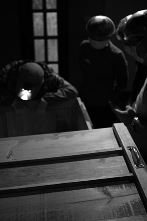 新製法の木箱発酵