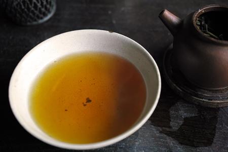 茶湯の色4煎め