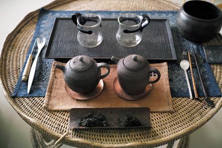 西双版納の茶机