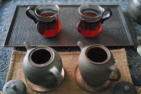 熟茶2種飲み比べ