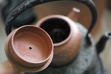 茶葉を加熱