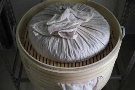 布袋と蒸籠