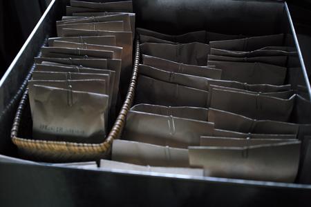 サンプル茶葉箱