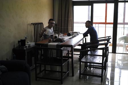 北京人の茶室
