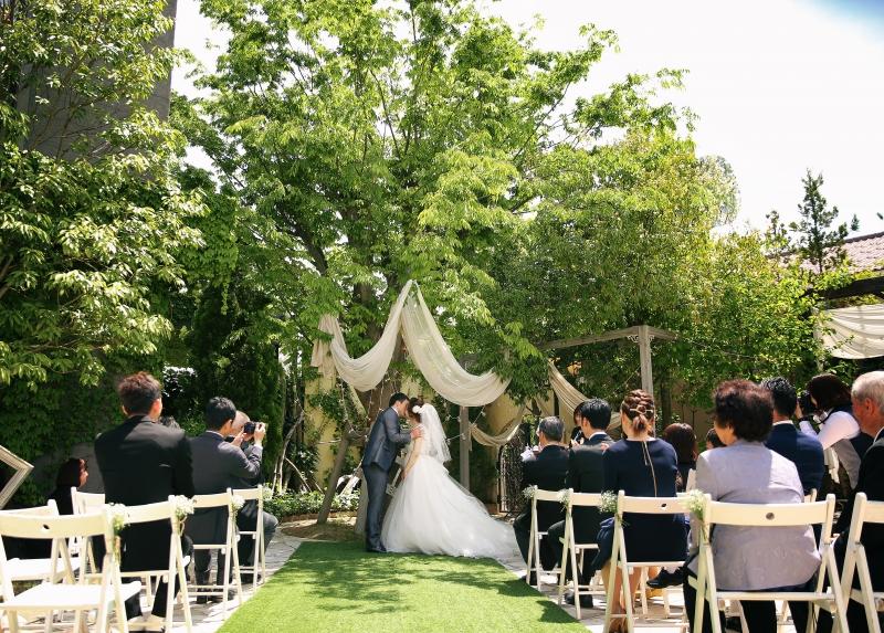 本日の結婚式 symbol tree wedding family 会津写遊庭ウェディング