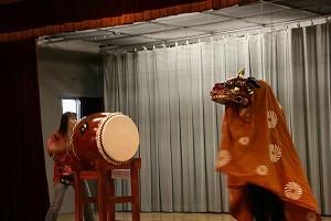 2008年お祭りでの獅子舞